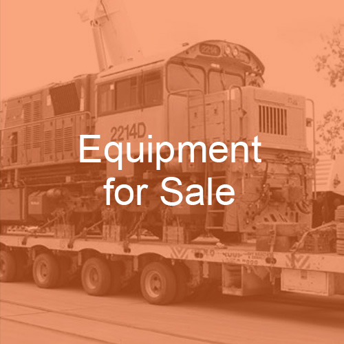 railway plant & rolling stock for sale